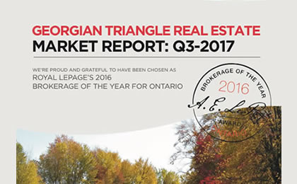 2017 – Q3 Southern Georgian Bay Real Estate Reports