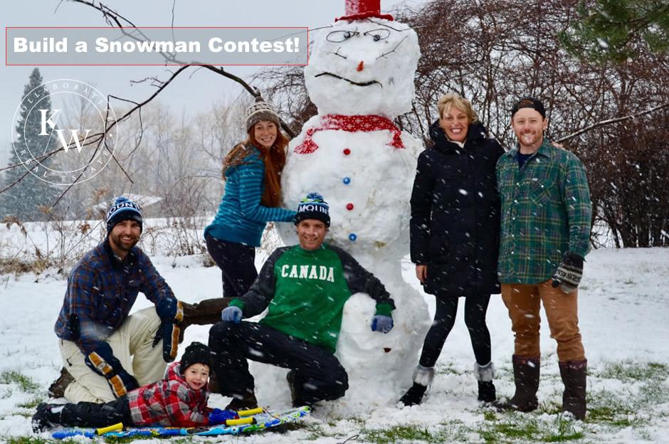 Build a Snowman Contest