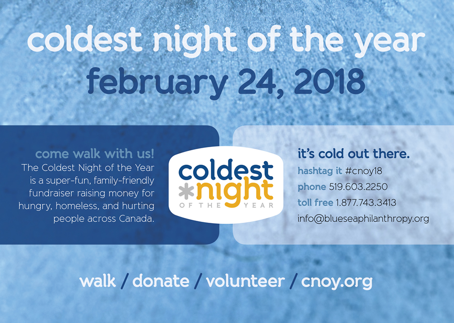 Coldest Night of the Year | February 24th, 2018