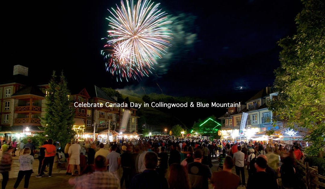 Canada Day Celebrations in Collingwood & Blue Mountain