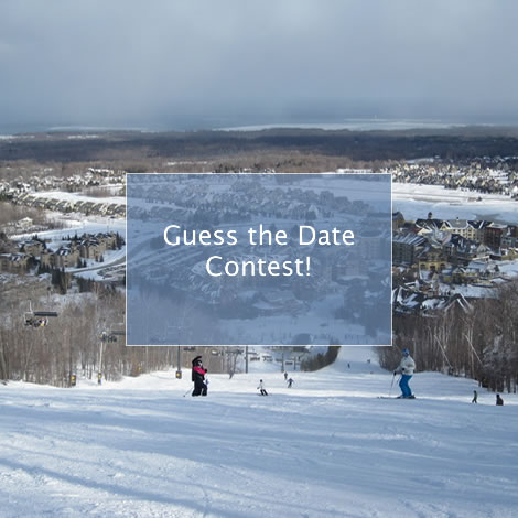 Guess Blue Mountain's Opening Day 2018 Contest!