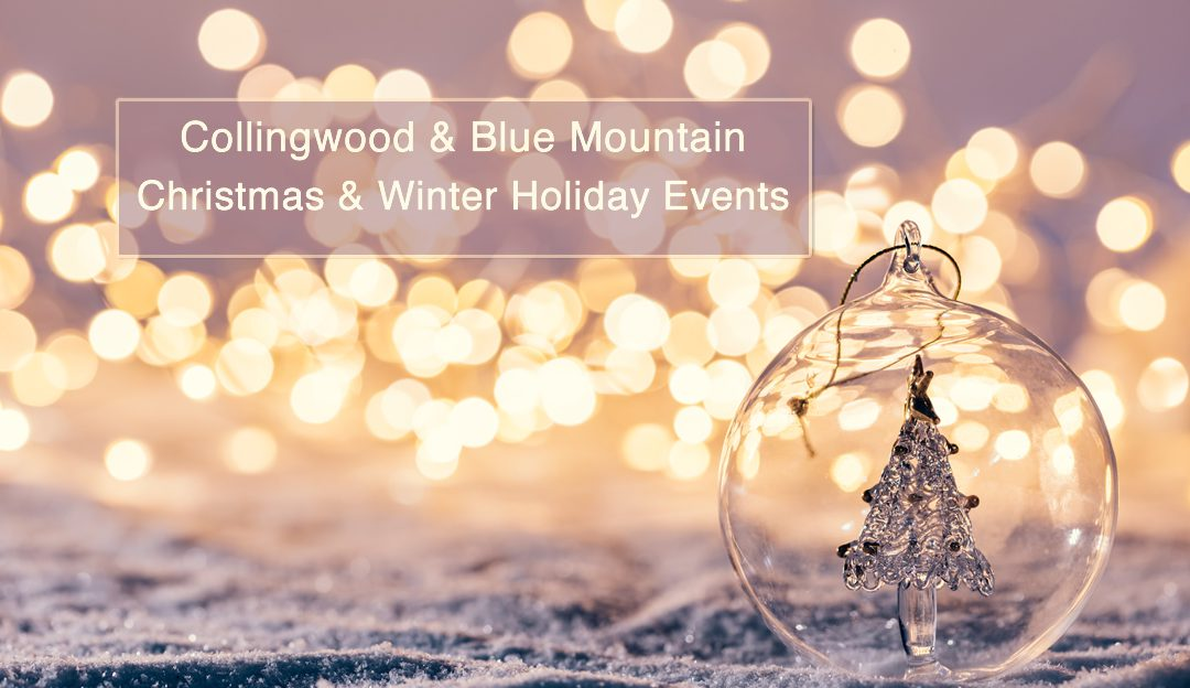 Collingwood – Blue Mountains Christmas & Winter Holiday Events