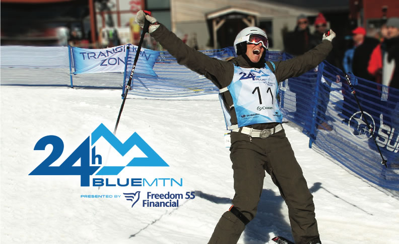24 Hours BlueMtn in Support of Ontario Special Olympics & Collingwood G & M Hospital