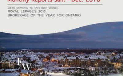 Southern Georgian Bay Real Estate Market Reports Jan. to Dec. 2018