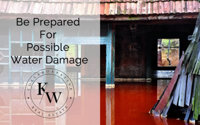 Be Prepared For Possible Water Damage
