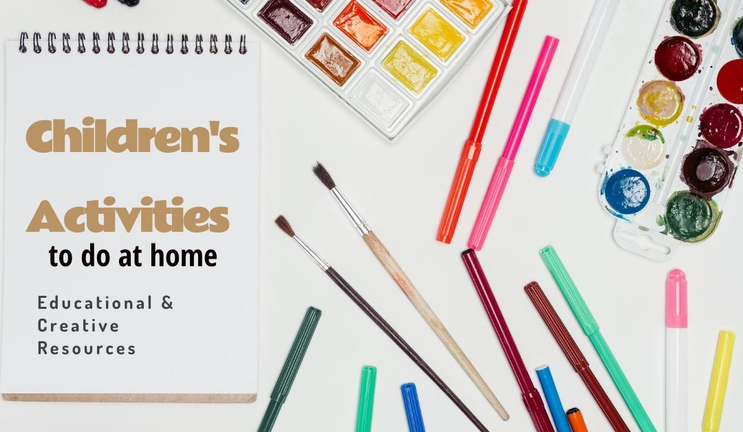 Educational and Creative Resources for Children at Home