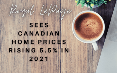 Royal LePage sees Canadian home prices rising 5.5% in 2021