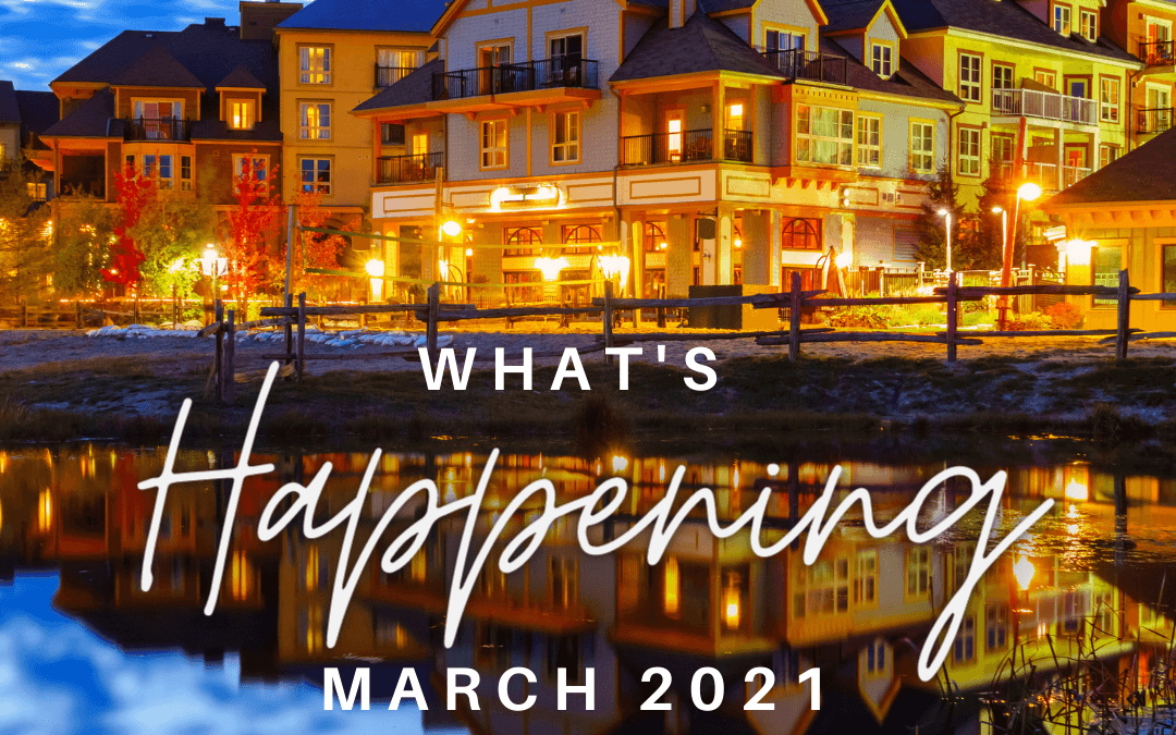 What's Happening March 2021- Market Update